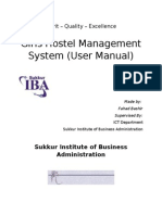 GHMS Warden User Manual