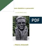Thierry Simonelli, Materialismo dialettico e psicanalisi secondo Wilhelm Reich