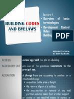 Terminologies n Development Control Rules