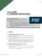 Protéinuries et syndromes néphrotiques
