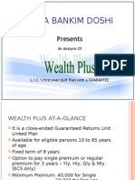Wealth Plus Analysis by Neeta Doshi