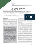 Adult Measures of General Health