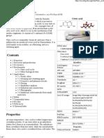Citric Acid - Wikipedia, The Free Encyclopedia