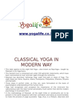 Modern Yoga in INDIA at YOGALIFE (Ujjain Yoga Life Society)