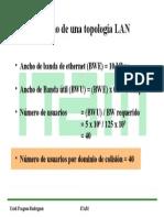 Topología LAN