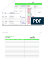 Crm Template | Crm Template Xlsx Customer Relationship Management Spreadsheet