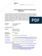 NYU Polytechnic School of Engineering- Quick Facts March 2015