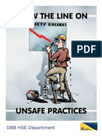 Attitude - Draw the Line on Ubsafe Practices