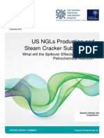 US NGLs Production and Steam Cracker Substitution