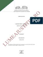 Case of Voicu v. Romania