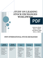 Study on leading stock exchanges worldwide.pptx