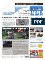 Asbury Park Press front page, Saturday, August 22, 2015