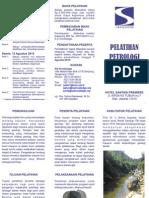 Leaflet Pelatihan Petrologi
