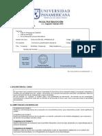 Evaluacion Del Aprendizaje-PROGRAMA de CURSO-2015