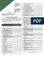 Eating Behavior Pattern Questionnaire