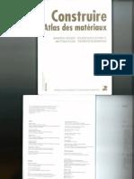Construire- Atlas Des Matériaux