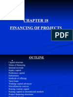 Chapter 18 Financing of Projects