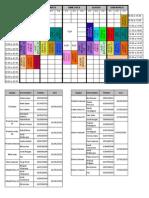 Horaris Temporada 2015-2016