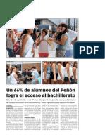 150822 La Verdad CG- Un 66% de Alumnos Del Peñó n Logra El Acceso Al Bachillerato p.8