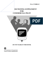 Computer Testing Supplement for Commercial Pilot (FAA-CT-8080-1C)