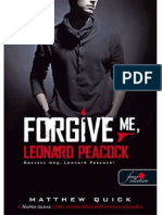 Matthew Quick - Bocsáss Meg, Leonard Peacock