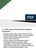 Presentation sp hematologi modul anemia