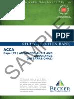 P7AAAInt Study Question Bank Sample D14 J15