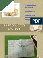 2.2 Producto Lacteos