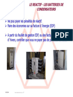 Infos Batteries de Condensateurs