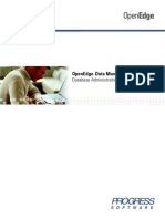 Progress OpenEdge Database Administration