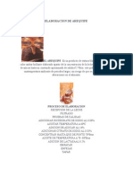 Elaboracion de Arequipe
