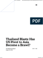 Thailand Blasts_ Has US Pivot to Asia Become a Brawl_ _ the Millennium Report