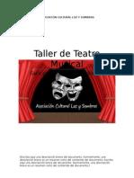 Taller de Teatro Musical