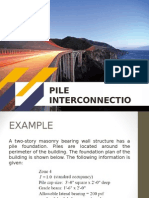 Pile Interconnections