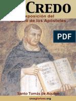 Santo Tomas de Aquino El Credo Comentario