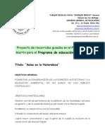 Proyecto Educacion Ambiental PEREB2008