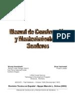 Manual de Construccion y Mantenimiento de Senderos