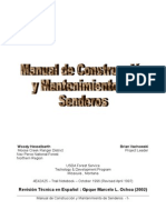 Manual de Construccion y Mantenimiento de Senderos