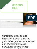 Parotiditis Viral