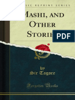 Rabindranath Tagore, Mashi and Other Stories