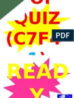 POP QUIZ C7F4-1