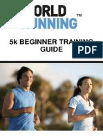 5k Beginner Training Guide