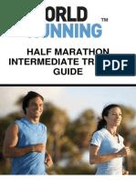 Half Marathon Intermediate Training Guide