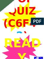 POP QUIZ C6F4-2