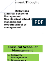 14. Final -Schools of Management Thought