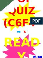 POP QUIZ C6F4-1