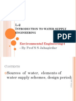 L-2 Sources and Water Supply Schemes