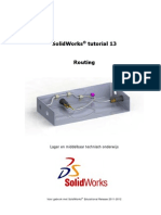 SolidWorks Tutorial - Routing