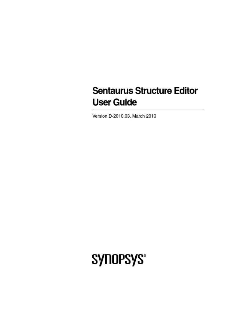 sen structure editor ug modified scheme programming language rh scribd com Sentaurus Myth Sentaurus Mortgage