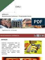 Mat Cons Civilii_modulo I_rev. Cerâmicos_propriedades Gerais